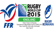 france vs roumanie RWC 2015