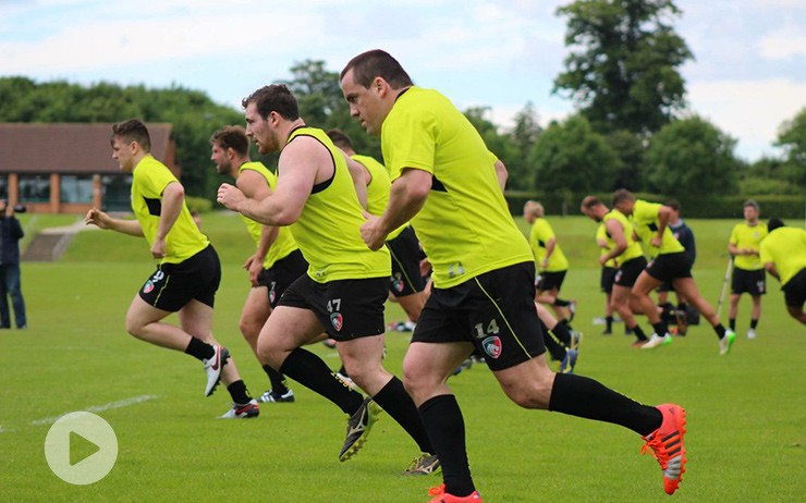 Travail endurance HITT en rugby
